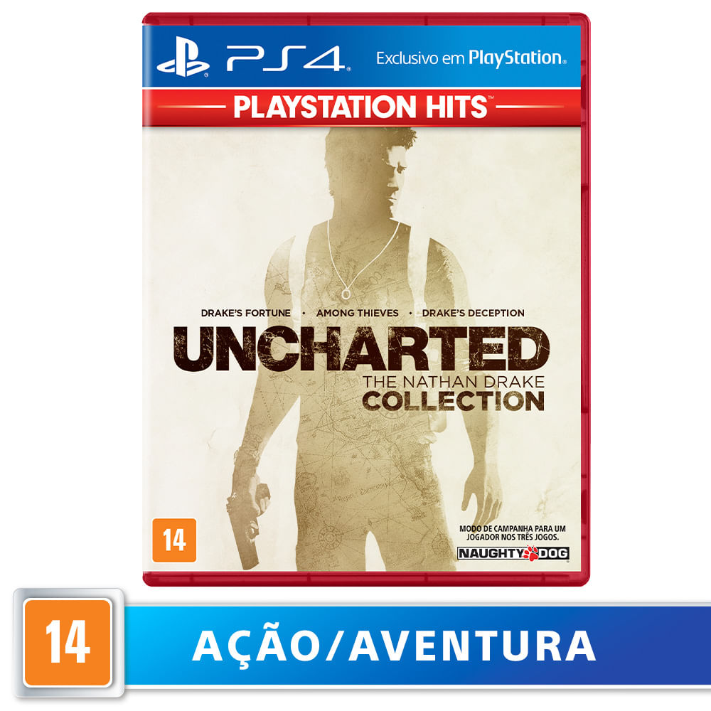 Jogo para PS4 Uncharted Collection Hits - Sony