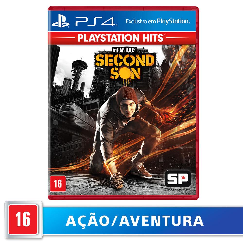 Jogo para PS4 Infamous Second Son Hits - Sony