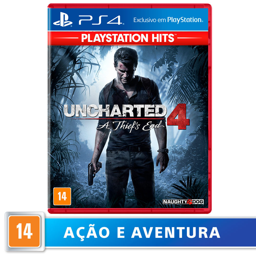 Jogo para PS4 Uncharted 4: Thiefs End Hits - Sony
