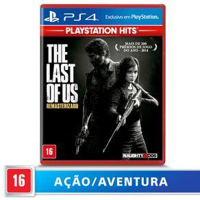 Jogo para PS4 The Last Of Us Remasterizado Hits - Sony