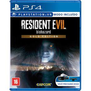 Jogo para PS4 Resident Evil 7 Gold Edition - Capcom (Compativel com Playstation VR)
