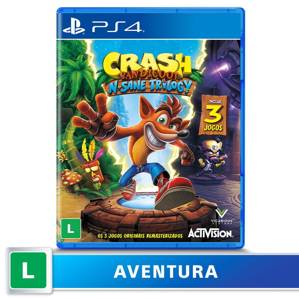 Jogo para PS4 Crash Bandicoot N'Sane Trilogy - Sony