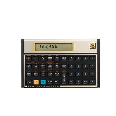 Calculadora Financeira 8 Digitos Gold HP 12C