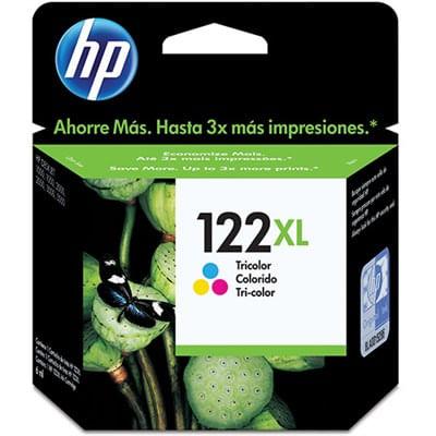 Cartucho de Tinta 122XL Tricolor CH564HB Hp