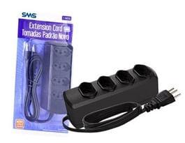 Extension Cord Com 4 Tomadas Padrao Novo Bivolt - SMS