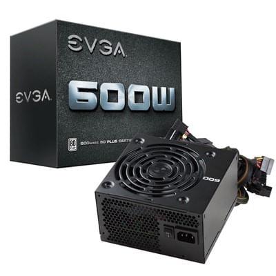 Fonte ATX 600W 80 Plus Branco 100-W1-0600-K1 EVGA