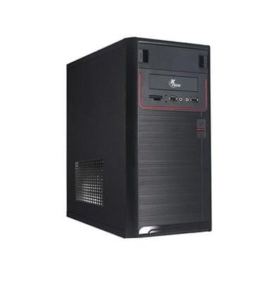 Gabinete Micro ATX com Fonte 600W XTQ-100 Preto Xtech