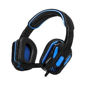 Fone de ouvido Headset com fio Combat Gaming ARG-HS-2845BK Preto Argom