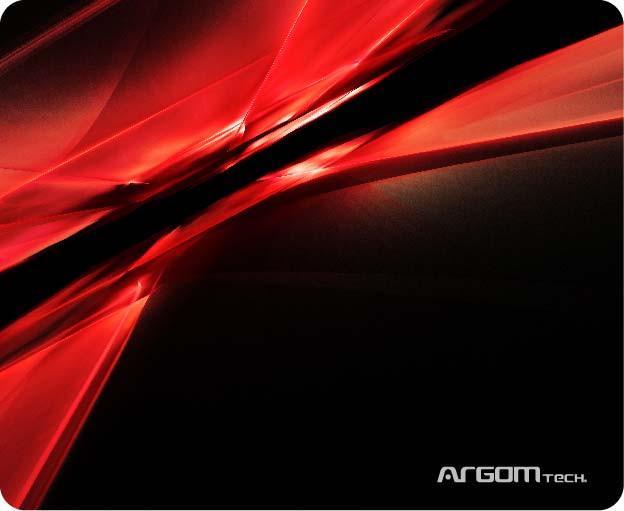 Mouse Pad Galaxia ARG-AC-1235RD Vermelho Argom