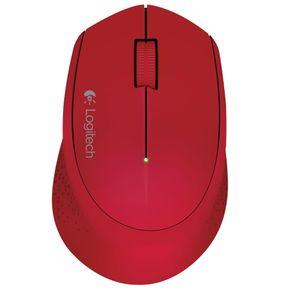 Mouse Sem Fio M280 Vermelho Logitech