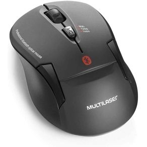 Mouse Sem Fio Bluetooth MO254 Preto Multilaser