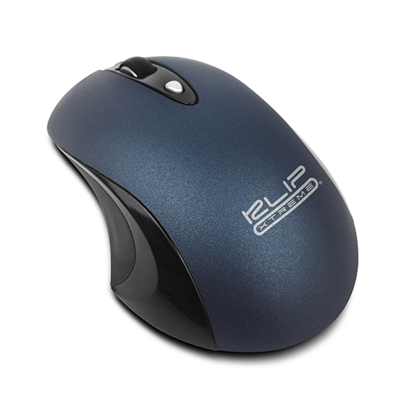 Mouse Sem Fio KMW-400BL GhosTouchs Azul Klip Xtreme
