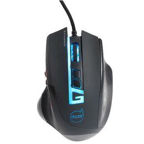 Mouse Gamer USB Moba Pro 5.000 DPI Dazz