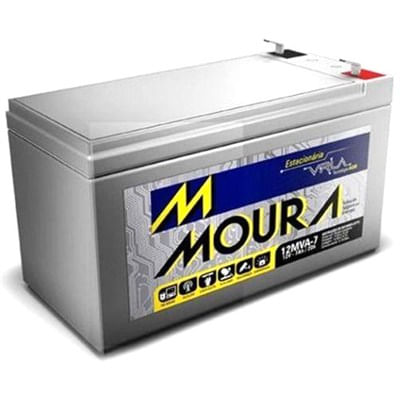 Bateria para Nobreak VRLA 12MVA-7 Moura