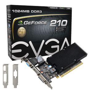 Placa de Video GeForce GT 210 1GB DDR3 EVGA