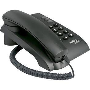 Telefone de mesa com fio Pleno 4080051 Preto Intelbras