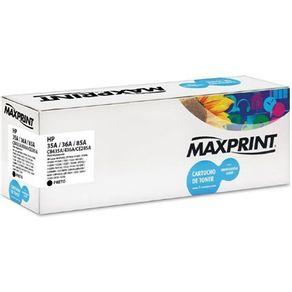 Toner Universal Compativel 35A/36A/85A Preto Maxprint