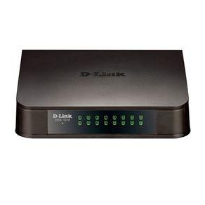Switch 16 Portas 10/100 Mbps DES-1016A Preto D-Link