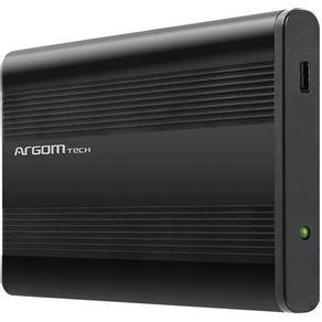 "Case para HD SATA 2.5"" USB 2.0 Preto ARG-AC-1030 Argom"