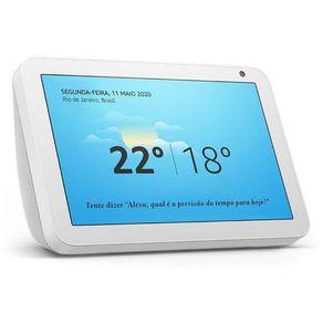 Dispositivo Smart Home Echo Show 8 Alexa Branco Amazon