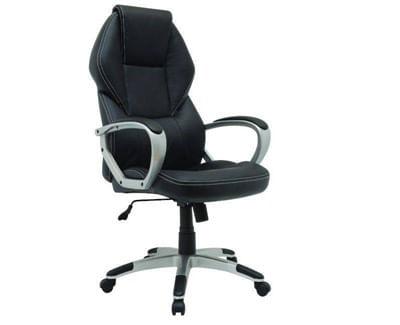 Cadeira Giratória para Escritório Executiva Montpellier QZY-1110 Preto Xtech