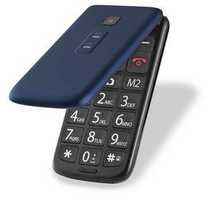 "Celular Vita Flip Dual Chip P9020 MP3 Camera Bluetooth 32MB Tela 2.4"" Preto/Azul Multilaser"