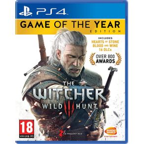 Jogo para PS4 The Witcher Wild Hunt Complete Edition - RED