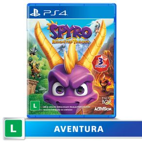Jogo para PS4 Spyro Reignited Trilogy - Sony DADC