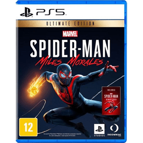 Jogos para PS5 Spider Man: Miles Morales ED.ULT - Sony
