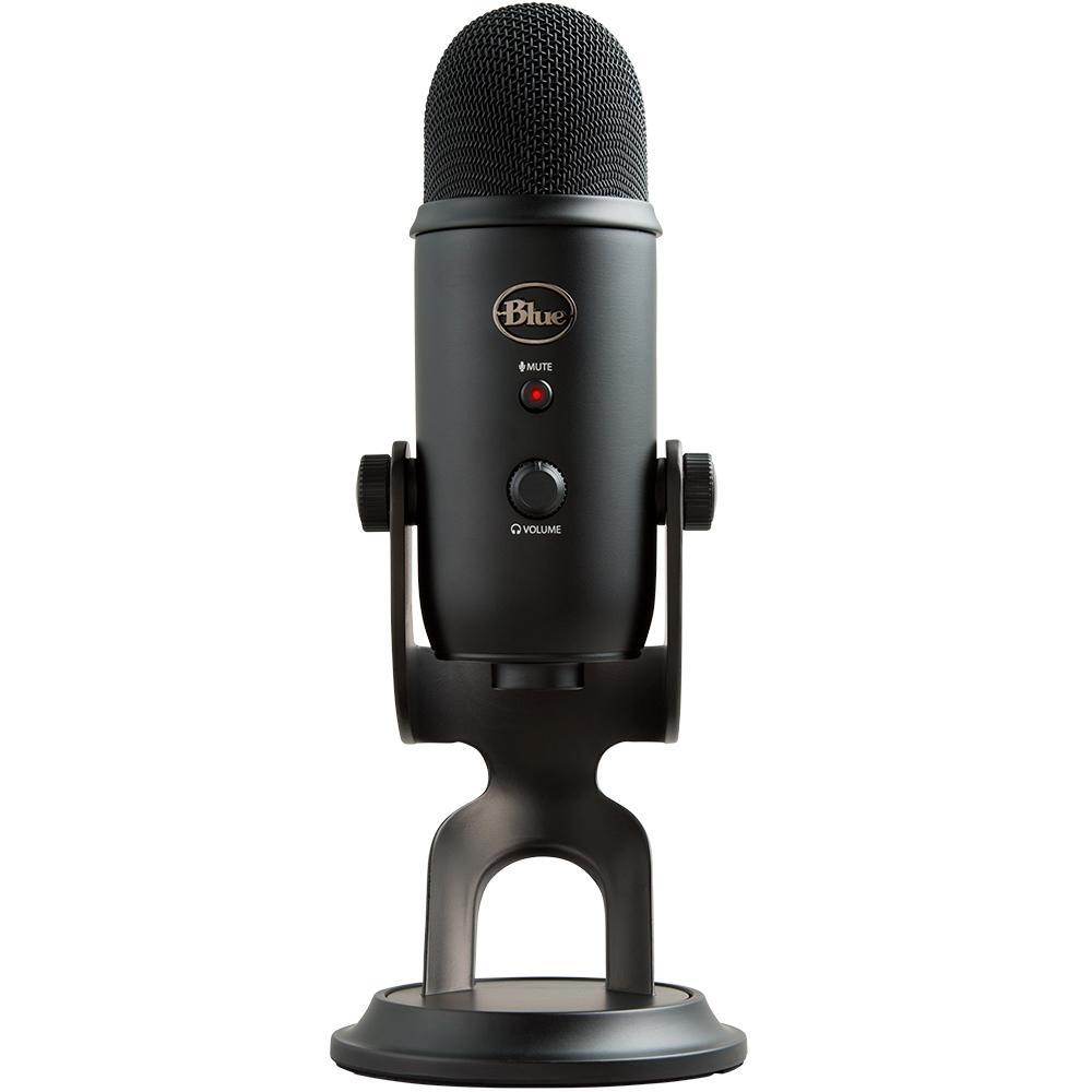 Acessorio Microfone USB Yeti Blackout Edition Blue