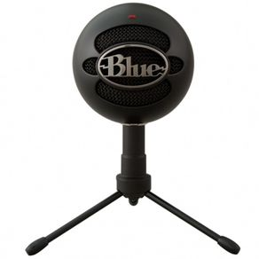 Microfone Condensador USB Snowball Ice Preto 988-000067-V - Blue