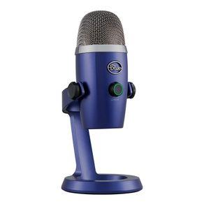 Acessorio Microfone USB Yeti Nano Azul Blue