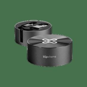Cabo USB Retratil para USB-C 1M Preto Xtech