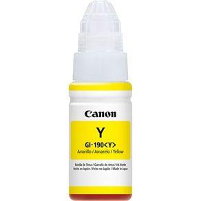Garrafa de Tinta GI-190Y Amarelo 0670C001AA Canon