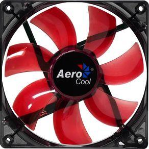 Cooler FAN Red Led Vermelho Aerocool
