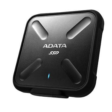SSD Externo SD700 256GB USB 3.2 Preto Adata