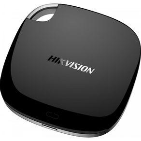SSD Externo T100I 480GB USB-C 3.1 Preto Hikvision