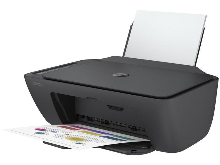 Impressora Multifuncional HP Deskjet Ink Advantage 2774 Wifi Colorida HP