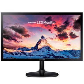 """Monitor LED 21.5"""" Widescreen Preto Samsung"""