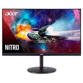 """Monitor Led Gamer 28"""" 4K XV280K Preto Acer"""