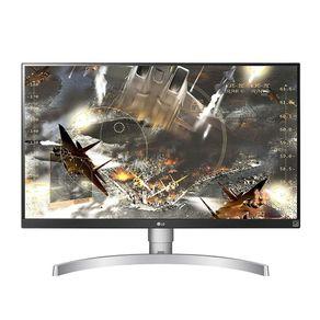 "Monitor LED 27"" Widescreen UHD 4K IPS Branco LG"