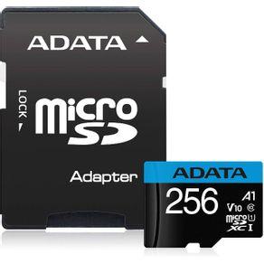 Cartao de Memoria Micro SD XC 256GB Classe 10 SDCR/256GB Adata