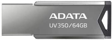 Pendrive 64GB USB 3.2 UV350 Prata Adata