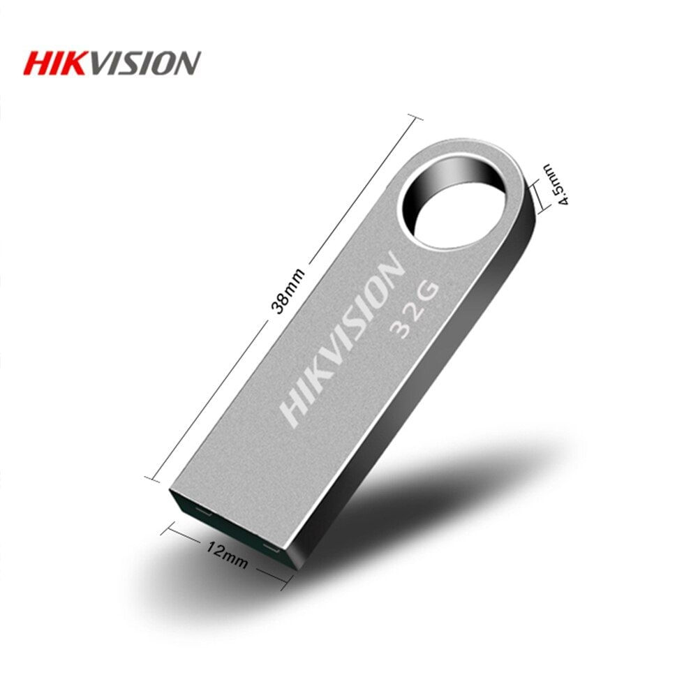 Pen Drive M200 32GB USB 2.0 Prata Hikvision