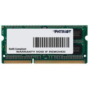 Memoria Ram para Notebook 4GB DDR3L 1600Mhz Signature Patriot
