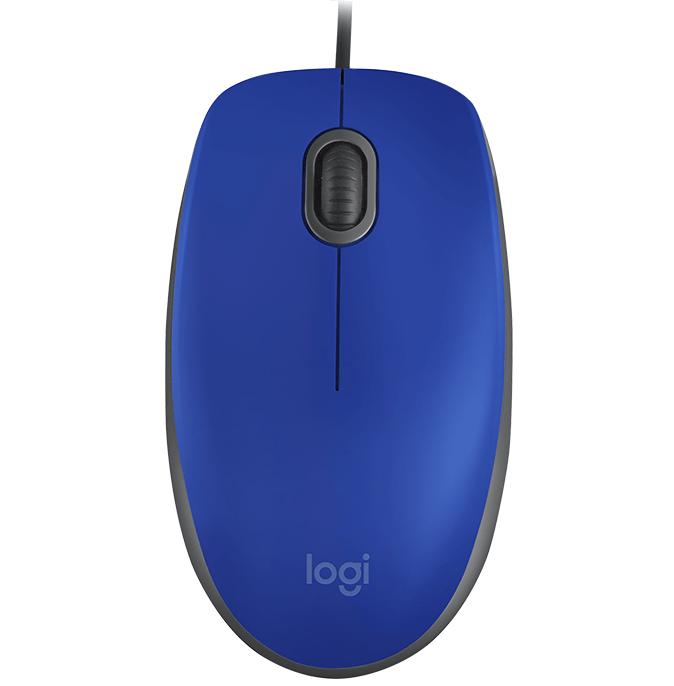 Mouse USB M110  Silent  Azul Logitech