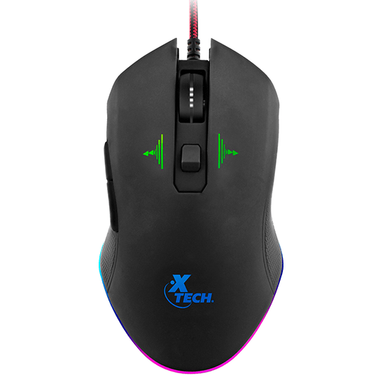 Mouse Gamer USB Blue Venom Xtech