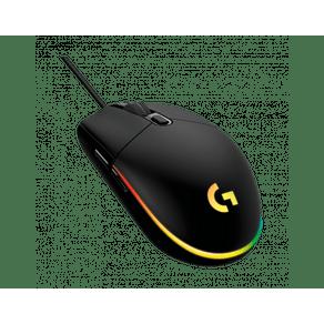 Mouse Gamer USB G203 Lightsync Preto Logitech