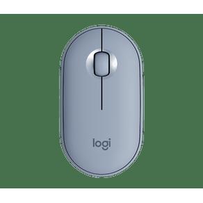 Mouse Sem Fio M350 Peble Azul Logitech