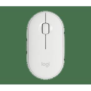 Mouse Sem Fio M350 Peble Branco Logitech